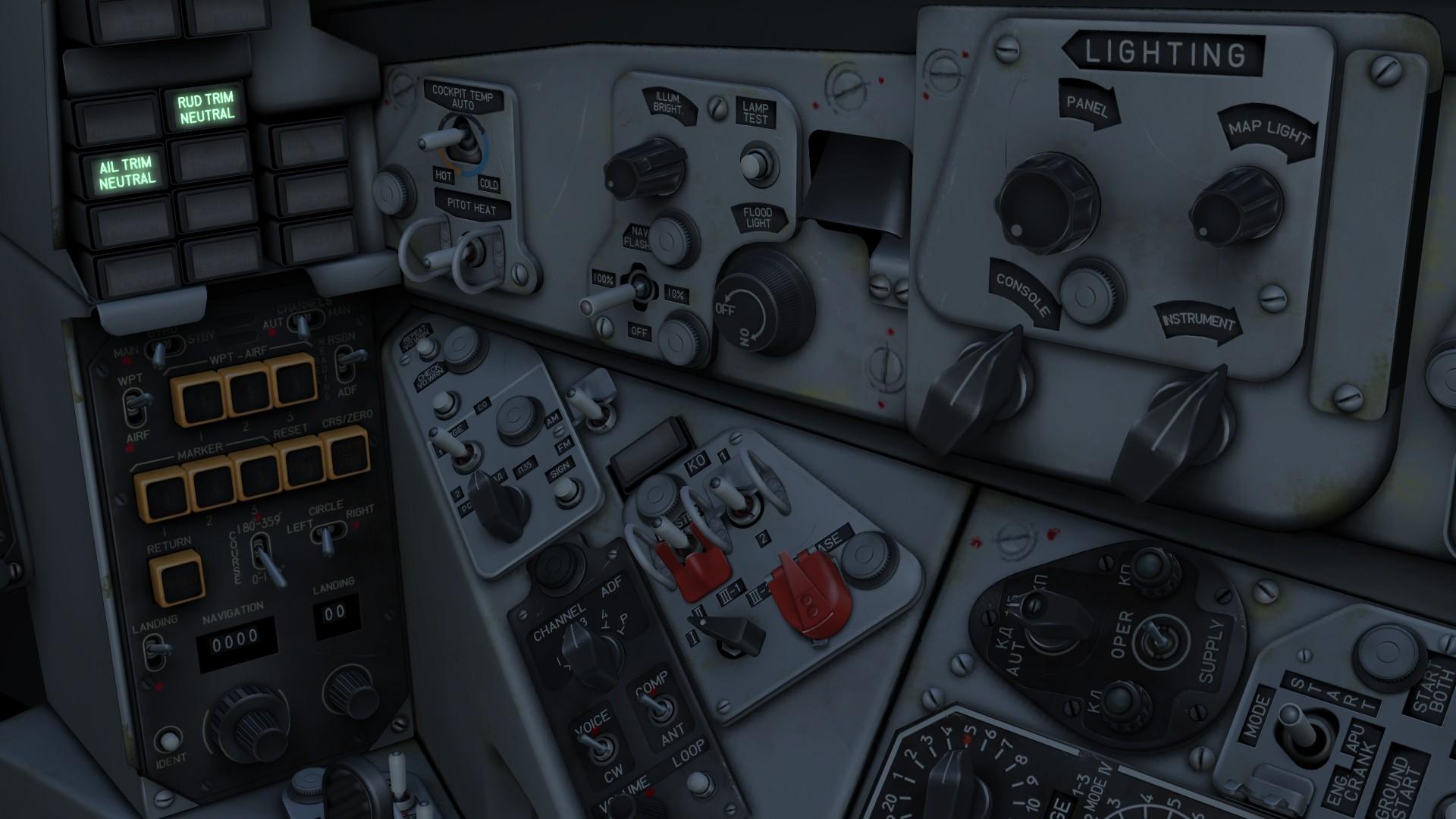 DCS: MiG-29 Complete English Cockpit Mod