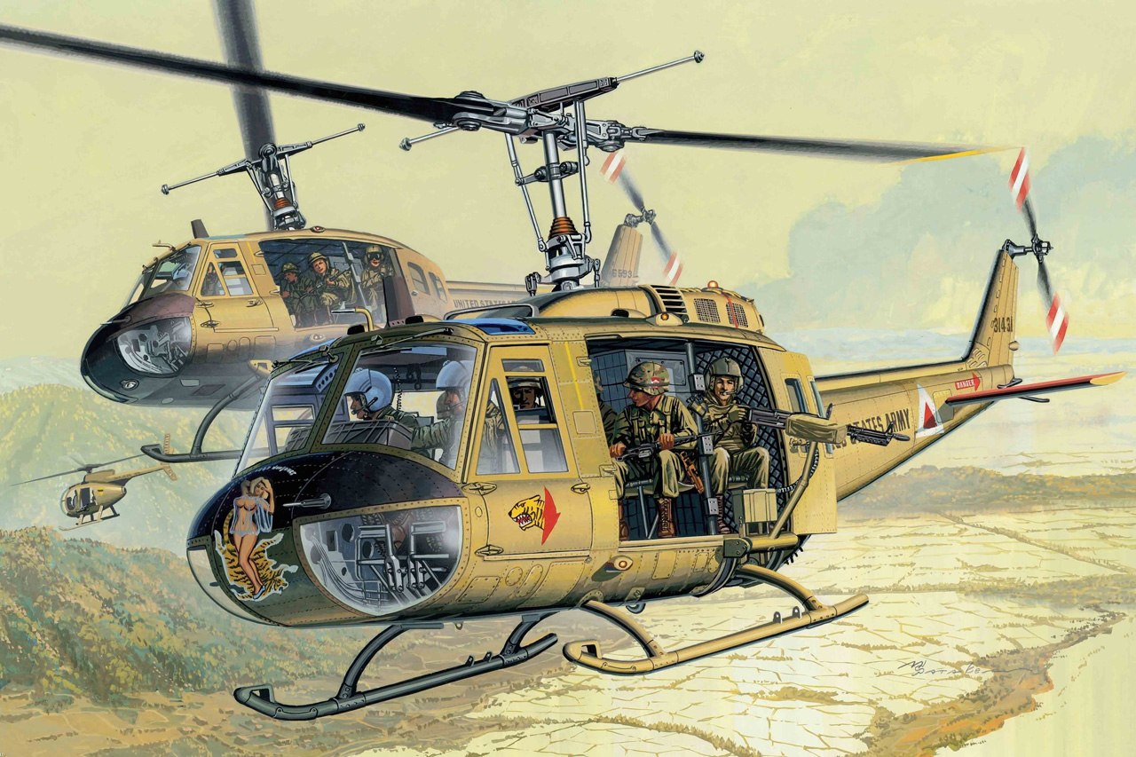 The Helicopter War Nevada Edition