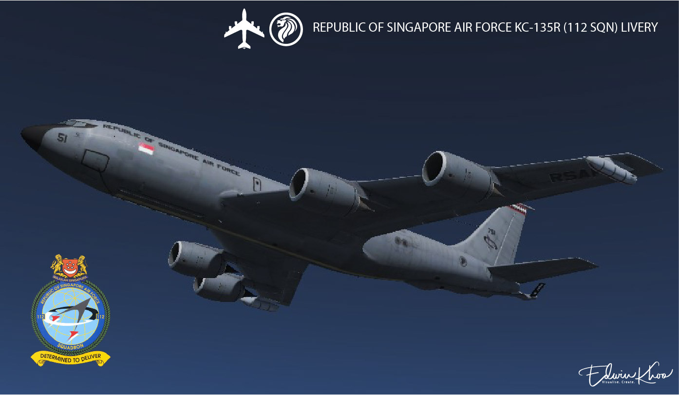 Republic of Singapore Air Force (RSAF) 112 SQN KC-135R
