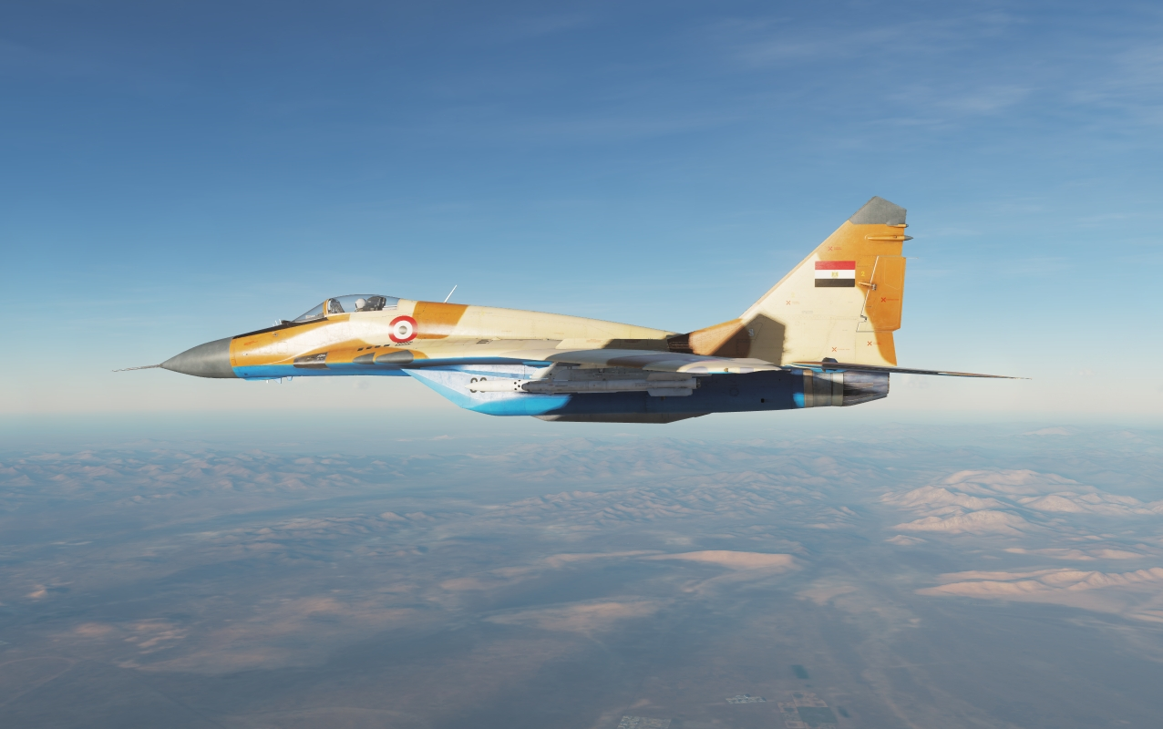 Egyptian Air Force - MiG 29S *Updated for DCS 2.5*