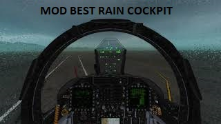 MOD BEST RAIN COCKPIT 0.1 VERSION VR OR MONITOR
