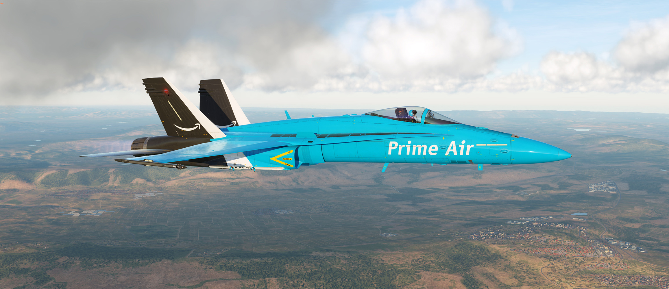 F-18 Racing Livery: Prime Air