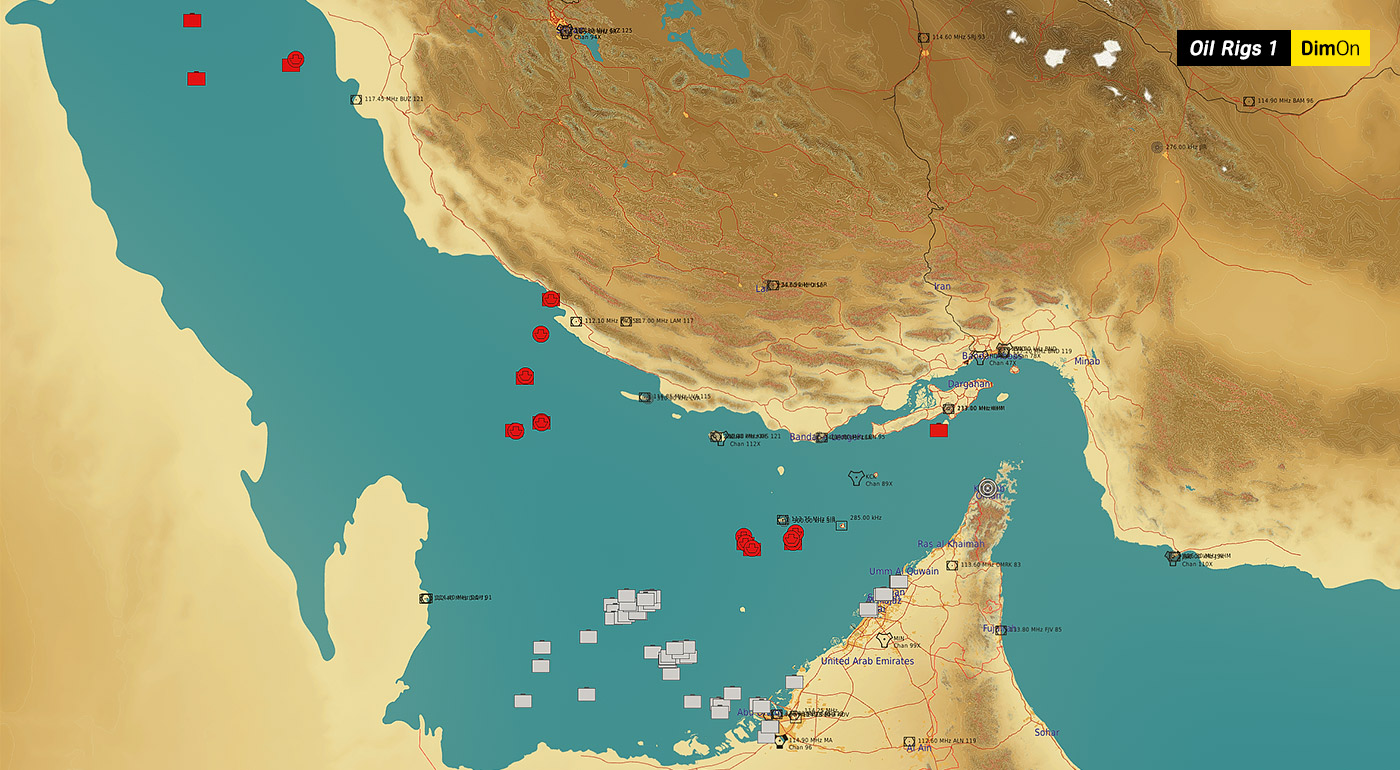 Persian Gulf Oil Rigs Static Template v1.1