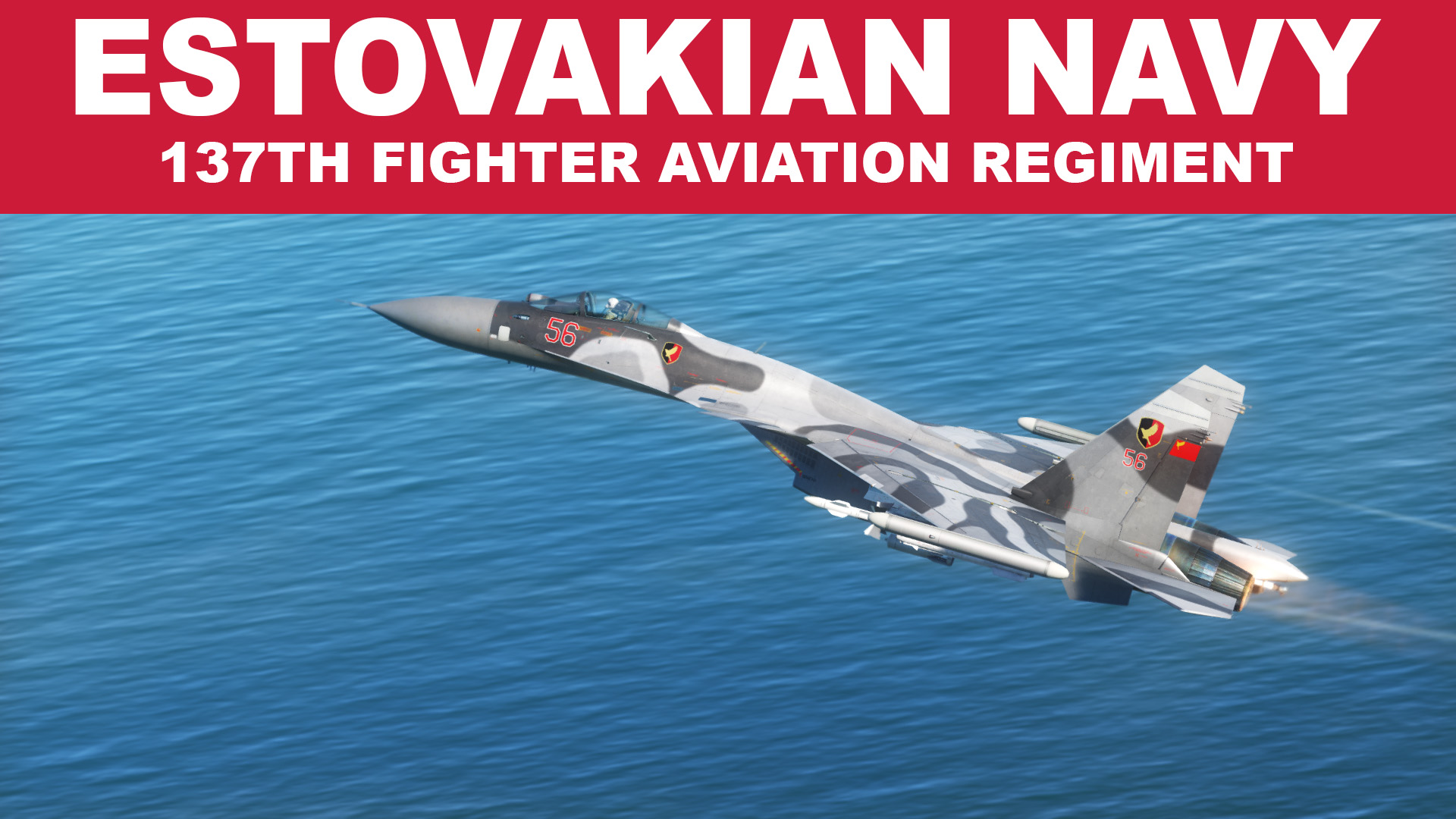 Ace Combat Estovakian Navy Su-33: 137th Fighter Aviation Regiment