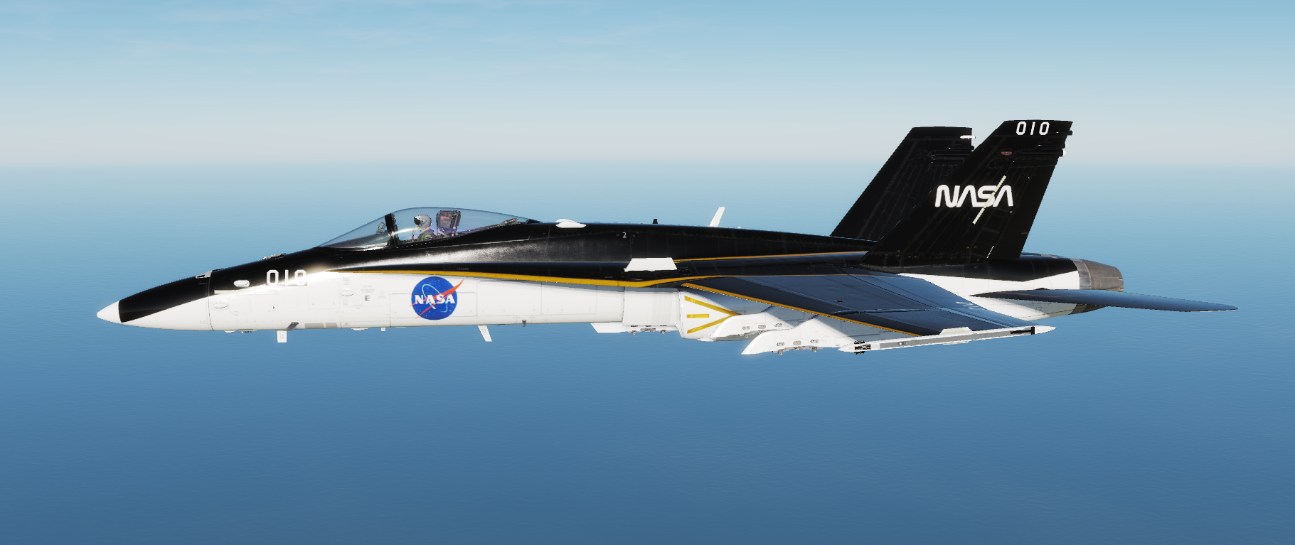 F/A-18C Golden Polar Skin
