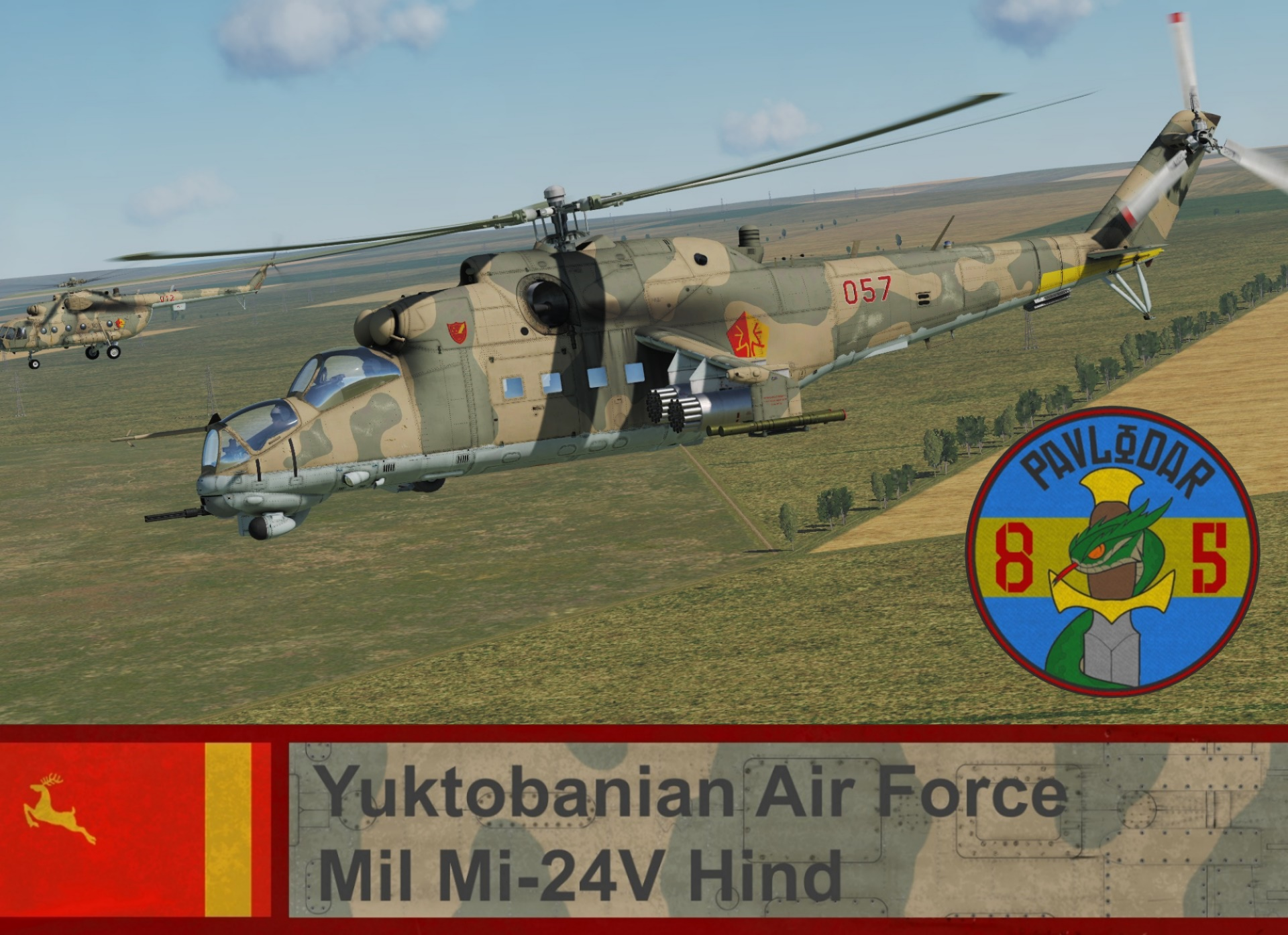 Yuktobanian Air Force Mi-24V - Ace Combat 5 (85 IHS) *UPDATED*