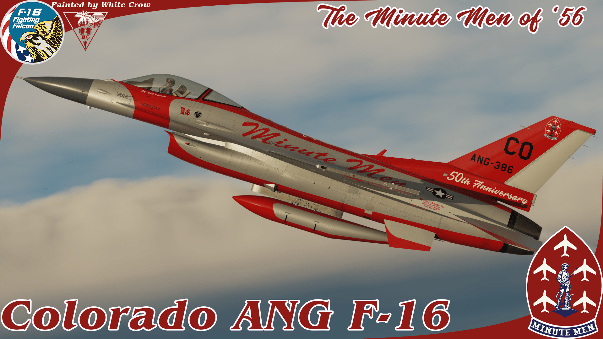 CO ANG, The Minute Men of '56 F-16C