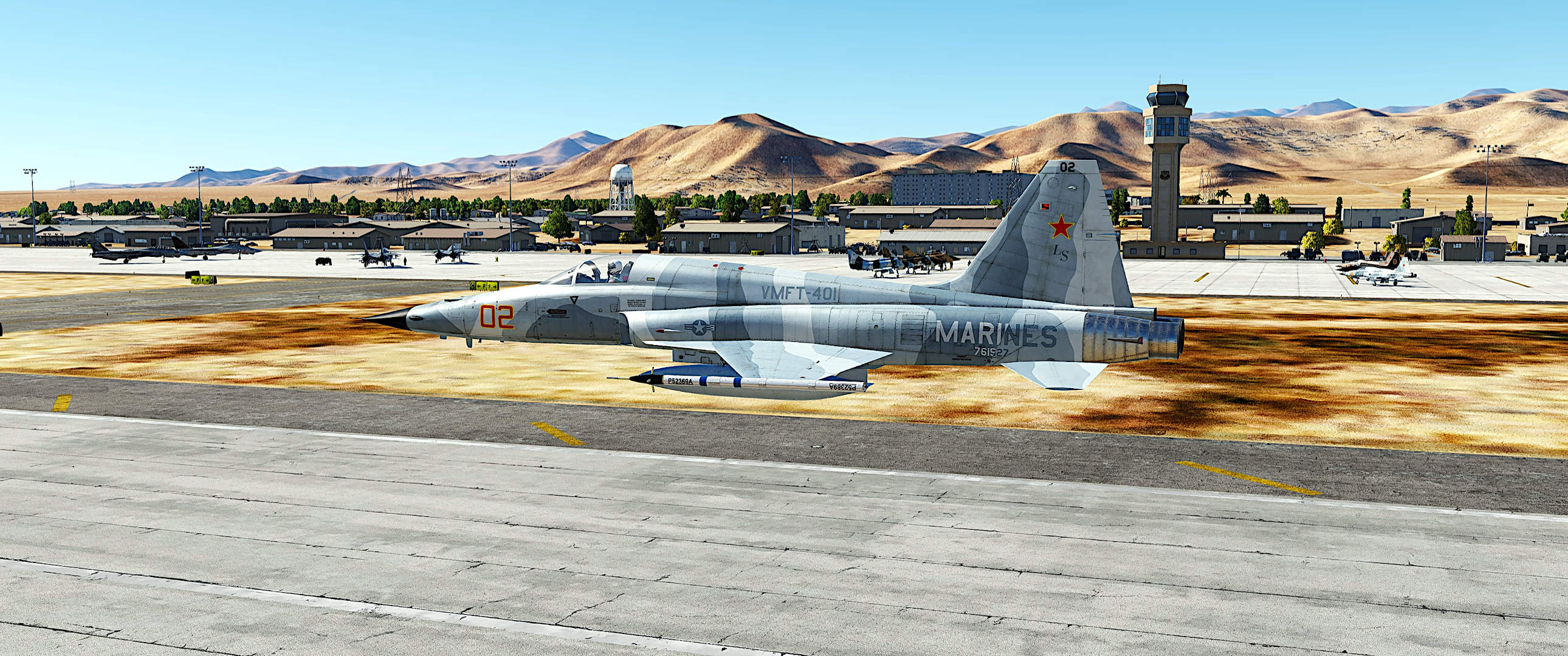 Misson Template: Naval Air Station Clark County, Nevada (1988-95)