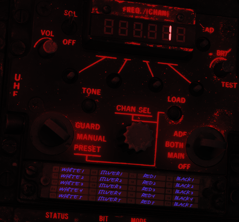 F-14B Radio Presets with labels