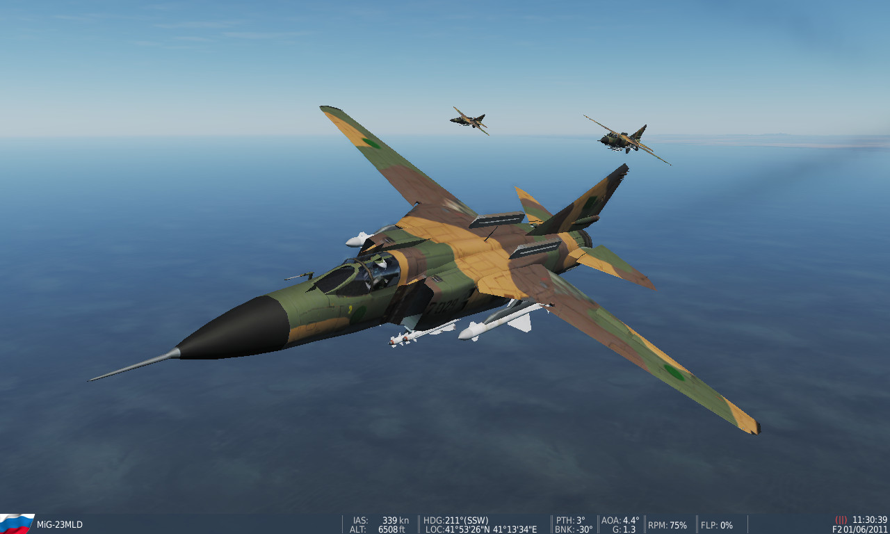 Libyan Air Force  Mig-23MLD livery
