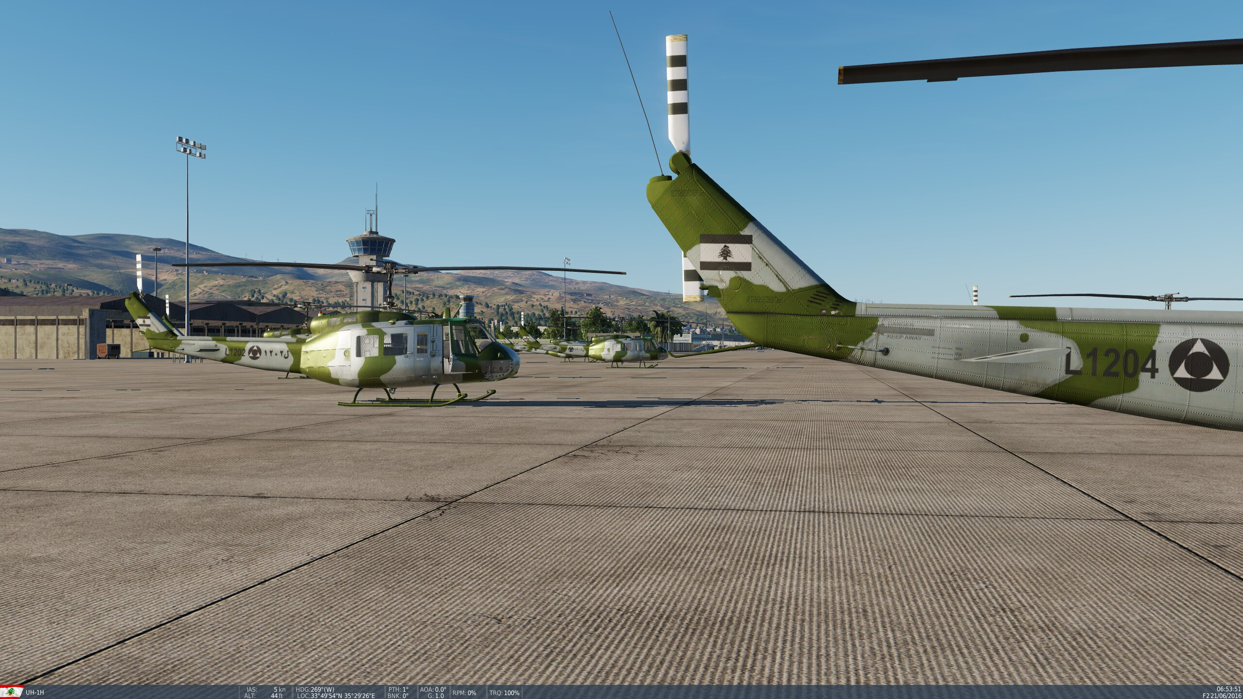 Lebanese Air Force UH-1H Skin Pack