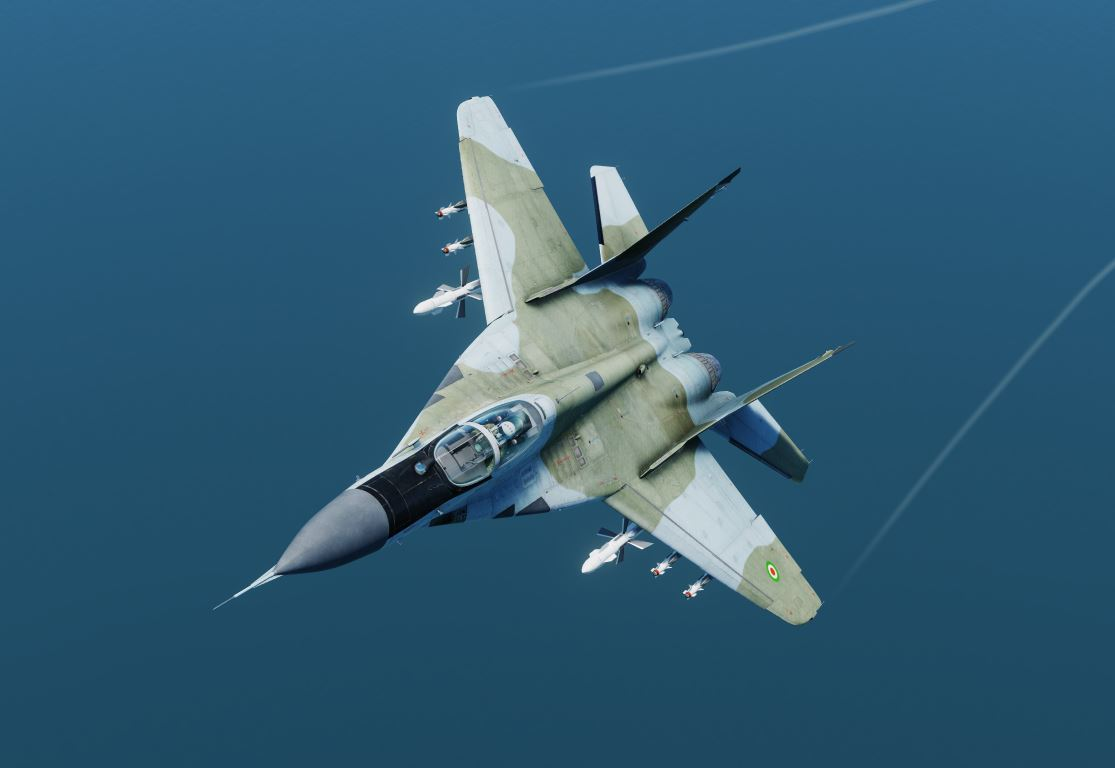 MiG-29A Iranian Air Force Blue-Green Livery