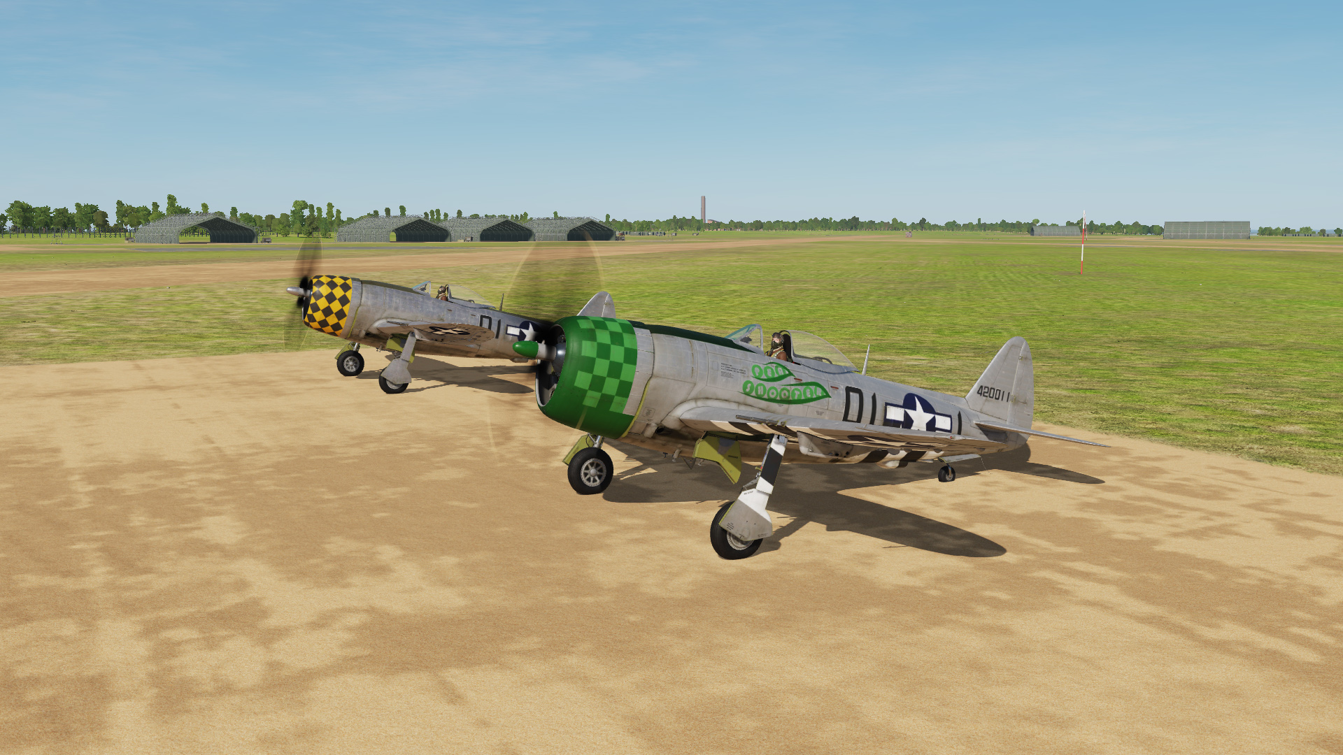 "P-47D ""Pea Shooter"" [Fictional]"