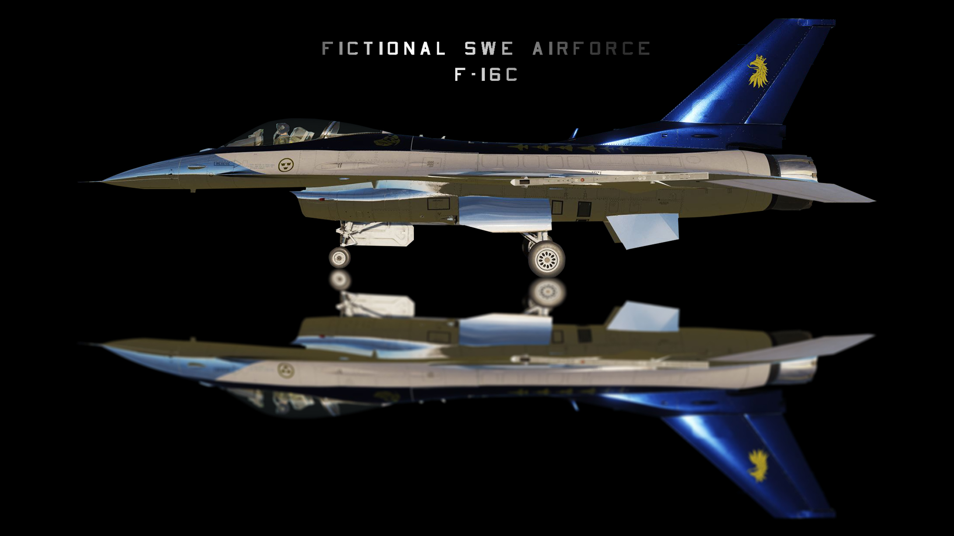 Fictonal Swedish Airforce Airshow skin