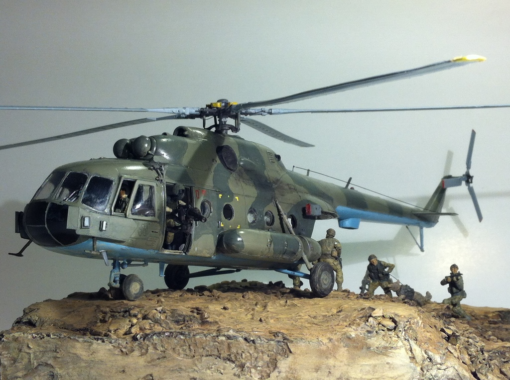 Vertical   Helicopter MI-8 MTV-1 in Kabul (Afghanistan) client ...