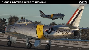 DCS: F-86F Hunters Over The Yalu by Reflected Simulations