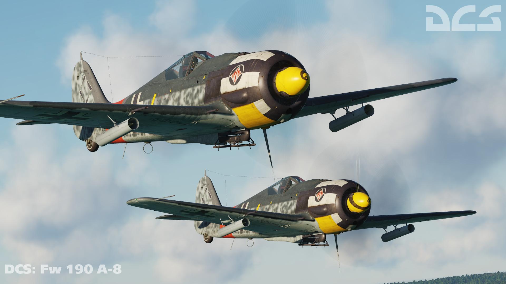Fw 190D-9 4./JG 2 Werner Hohenburg