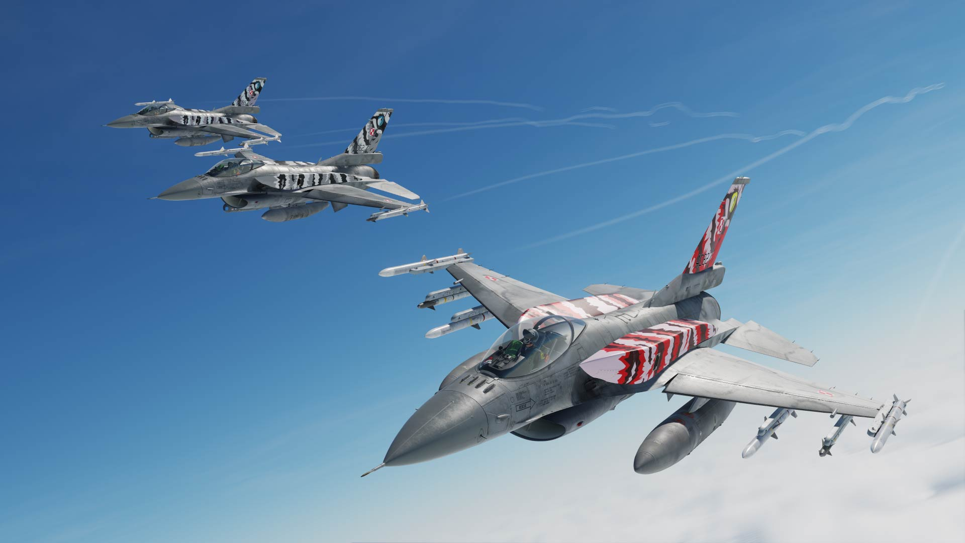 Polish Air Force F-16C Block 52+ 'Tigermeet Three-Pack' CFT