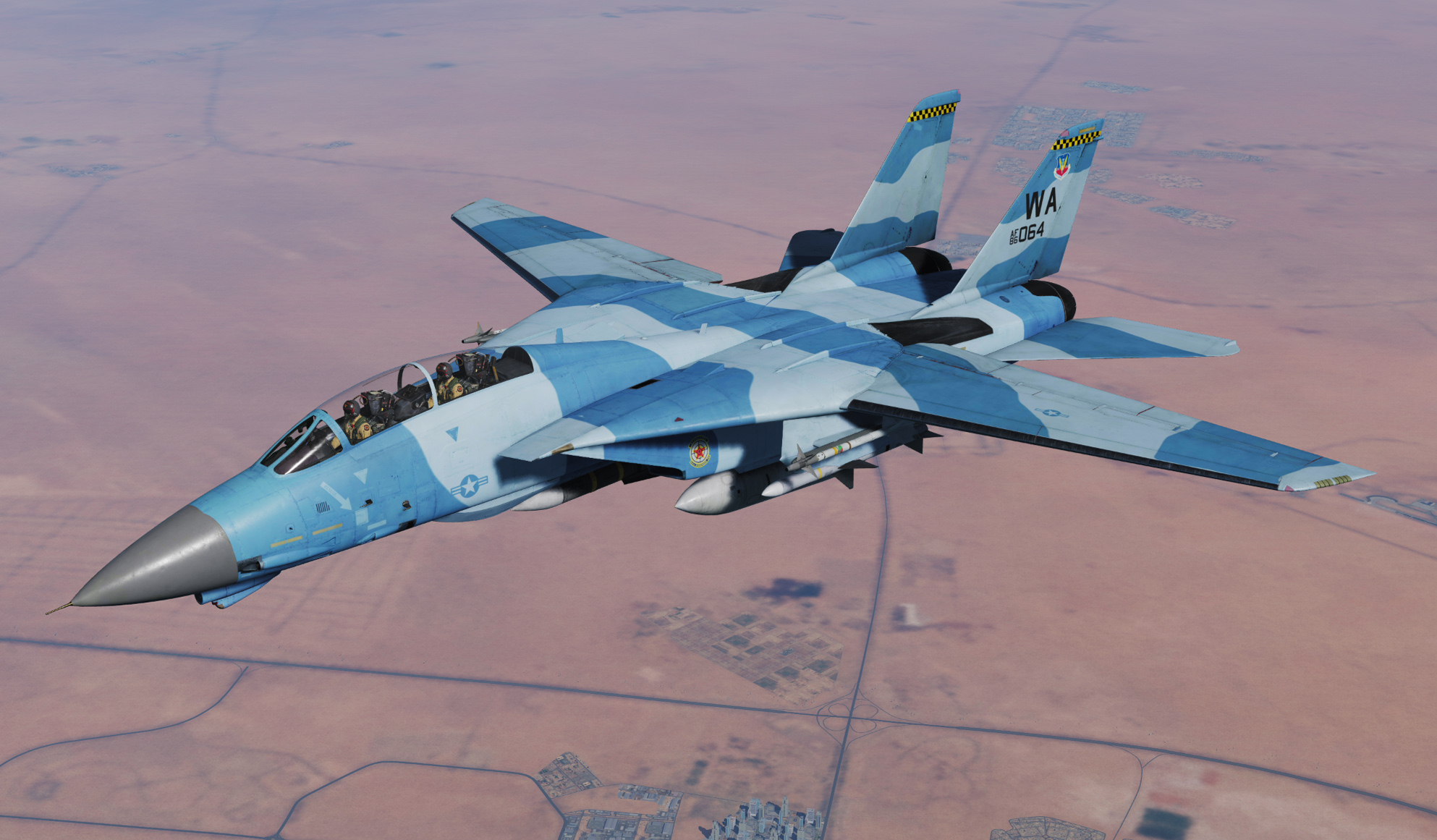 F-14B - 64th Aggressor Squadron 'Flanker'