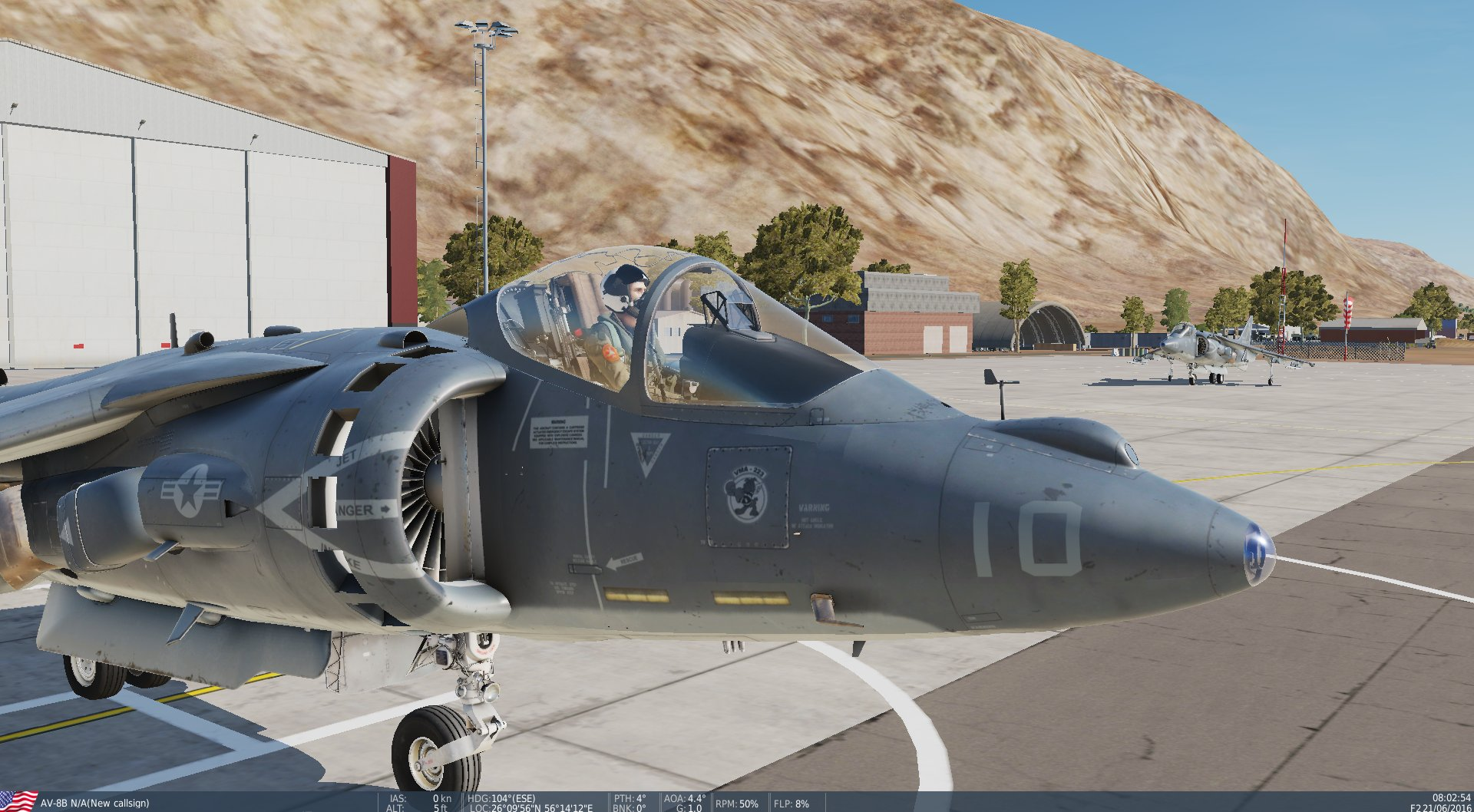 HARRIER DETACHMENT KHASAB