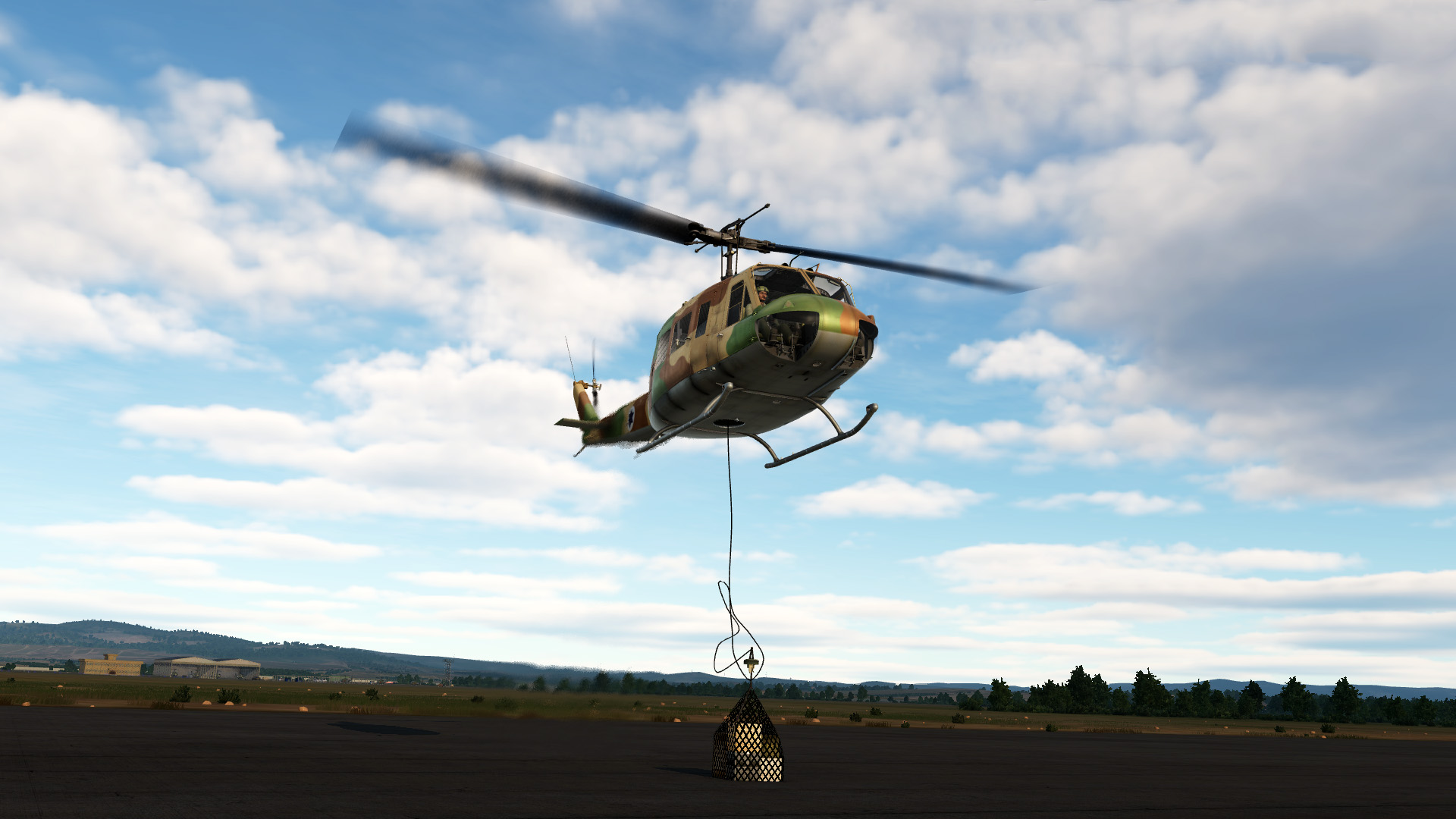 Sling load training for the Huey