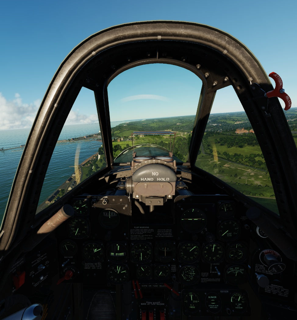P-47D VR Friendly Prop