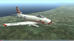 US Navy VF-211 Red Checkertails Skin Pack for DCS F-86F