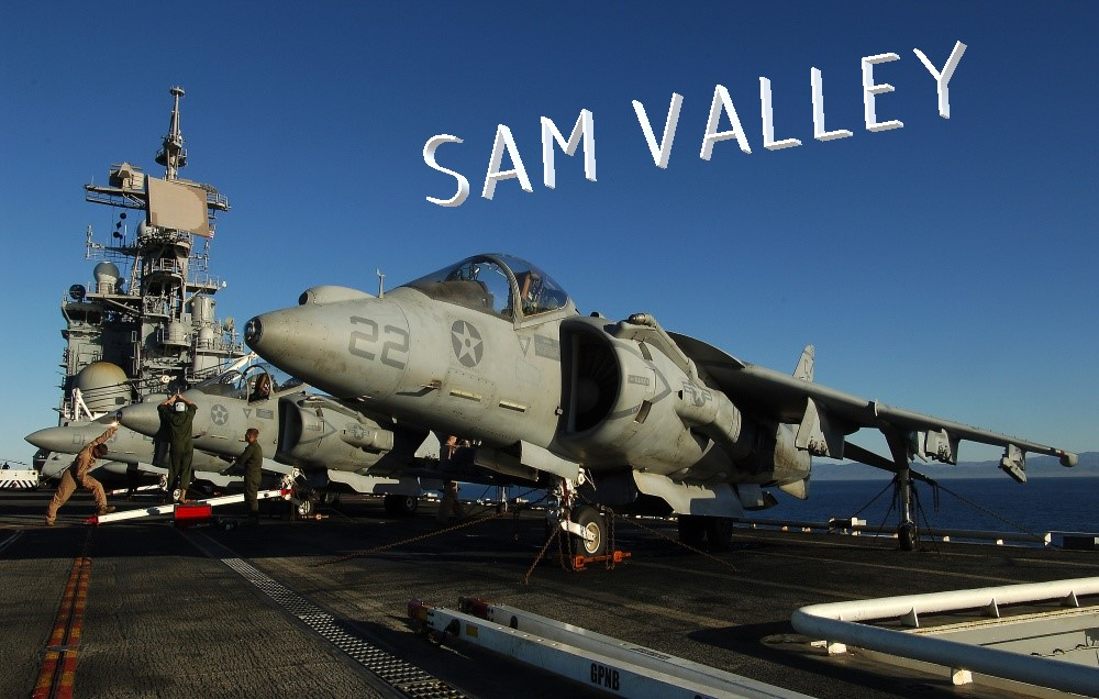 SAM valley - AV-8B - Caucasus