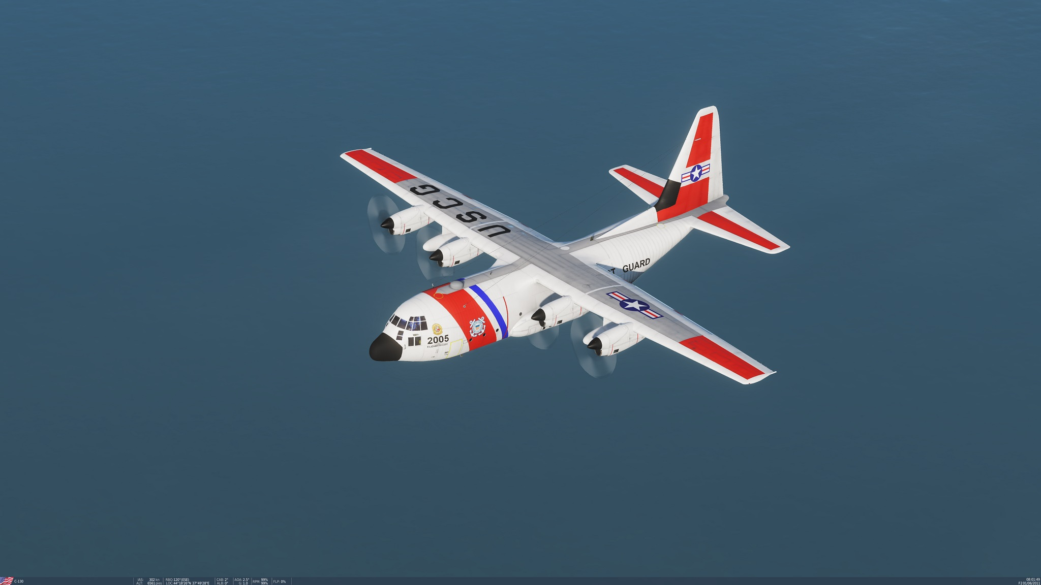 C-130H Hercules, US Coast Guard