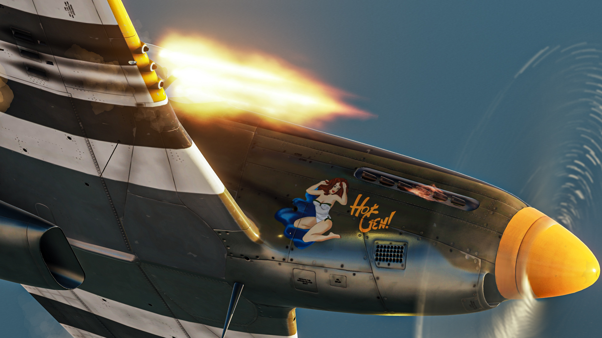 P-51D Canadian Hot Gen Fictional