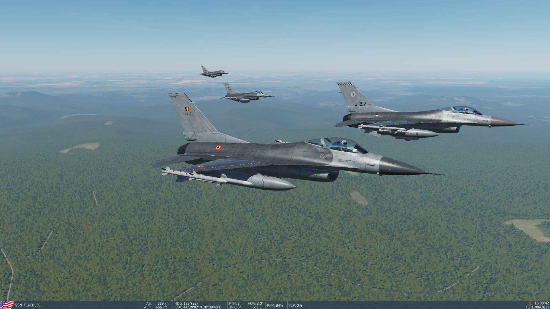 "Flyable VSN_F-16  ""NATOPACK"""