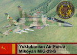 Yuktobanian Air Force Mig-29S - Ace Combat 5 (28 FAR)