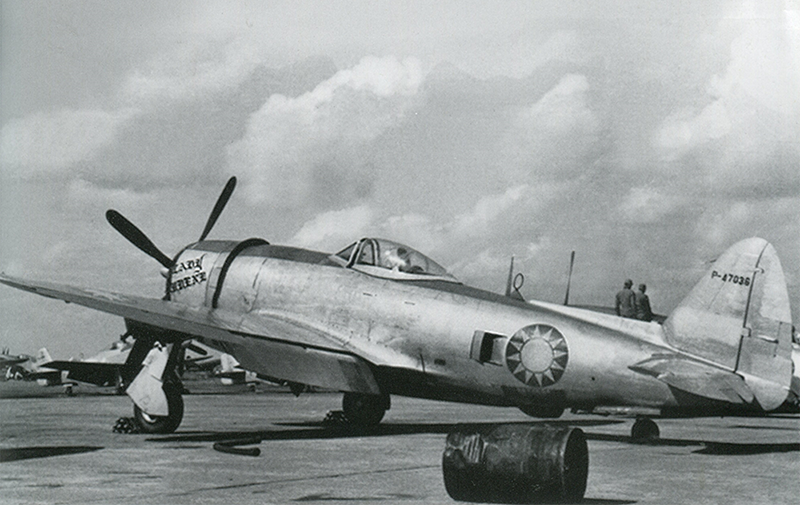 P-47D Natinalist Chinese Air Force 47036