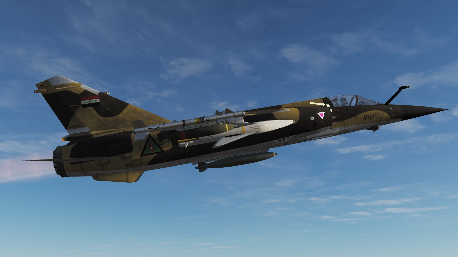 MOD MIRAGE F1-CT VERSION 2.5.4  by Eric et Patrick