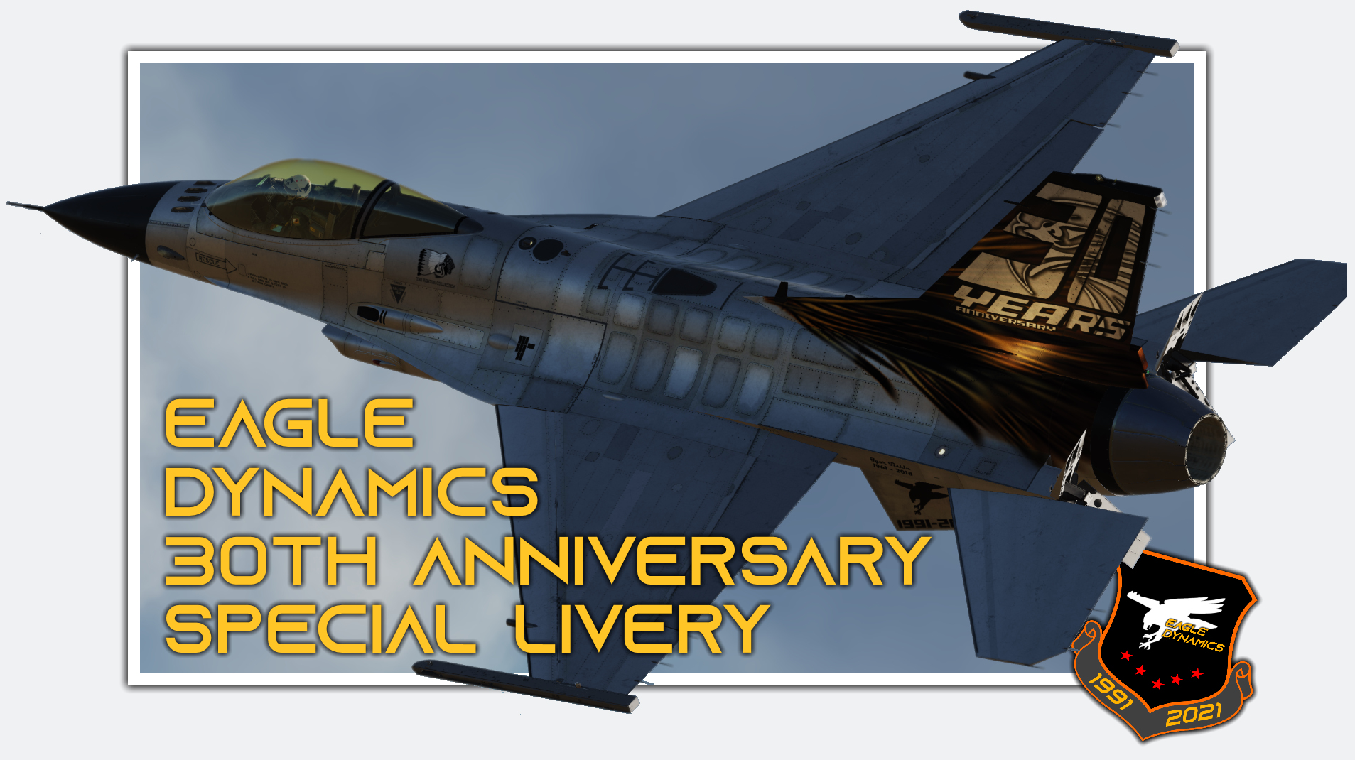 Eagle Dynamics 30th Anniversary Special Livery