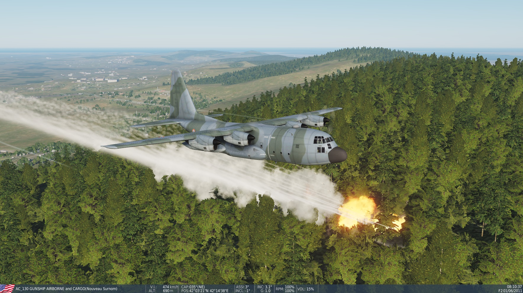 MOD AC-130 GUNSHIP PARASHUTISTS AND CARGO update for 2.5.5 by Eric and Patrick