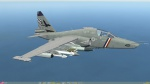 "Su-25T: US Navy Attack Squadron 72 (VA-72) ""Blue Hawks"" Fictional Skin Pack"