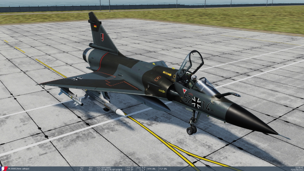 M-2000C Luftwaffe JG52 ( Fictional