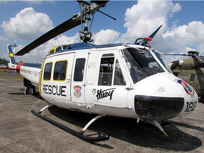 UH-1H High Altitude Search and Rescue