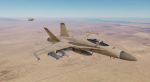 "F/A-18C_Lot20 VFA-103 ""Jolly Rogers"" Fictional Desert Camo High & Low Visibility (2 Skins)"