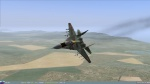 Last flight of East German MiG-29