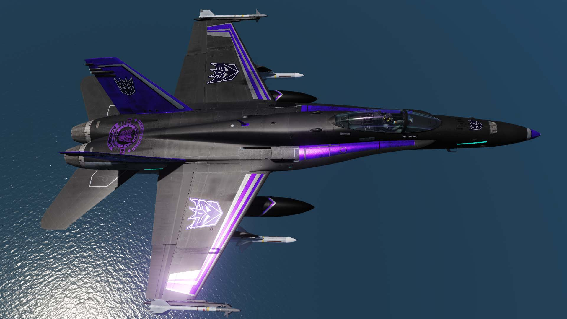 SKYWARP Decepticon F/A-18C Hornet
