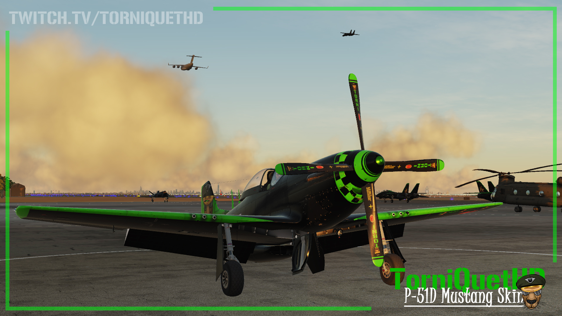 The Official TorniQuet-HD P-51D Skin ( A must download for all the haters )