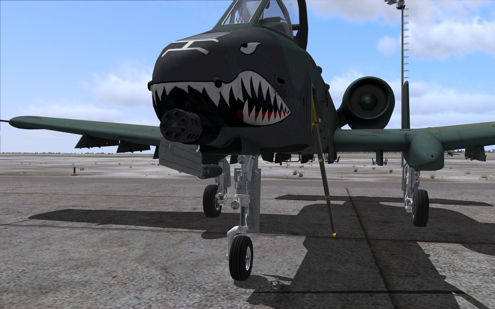 A-10C Sharkmouth