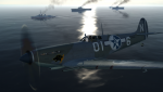 Fictional Osean Navy Wardog Squadron Seafire Skin From Ace Combat 5
