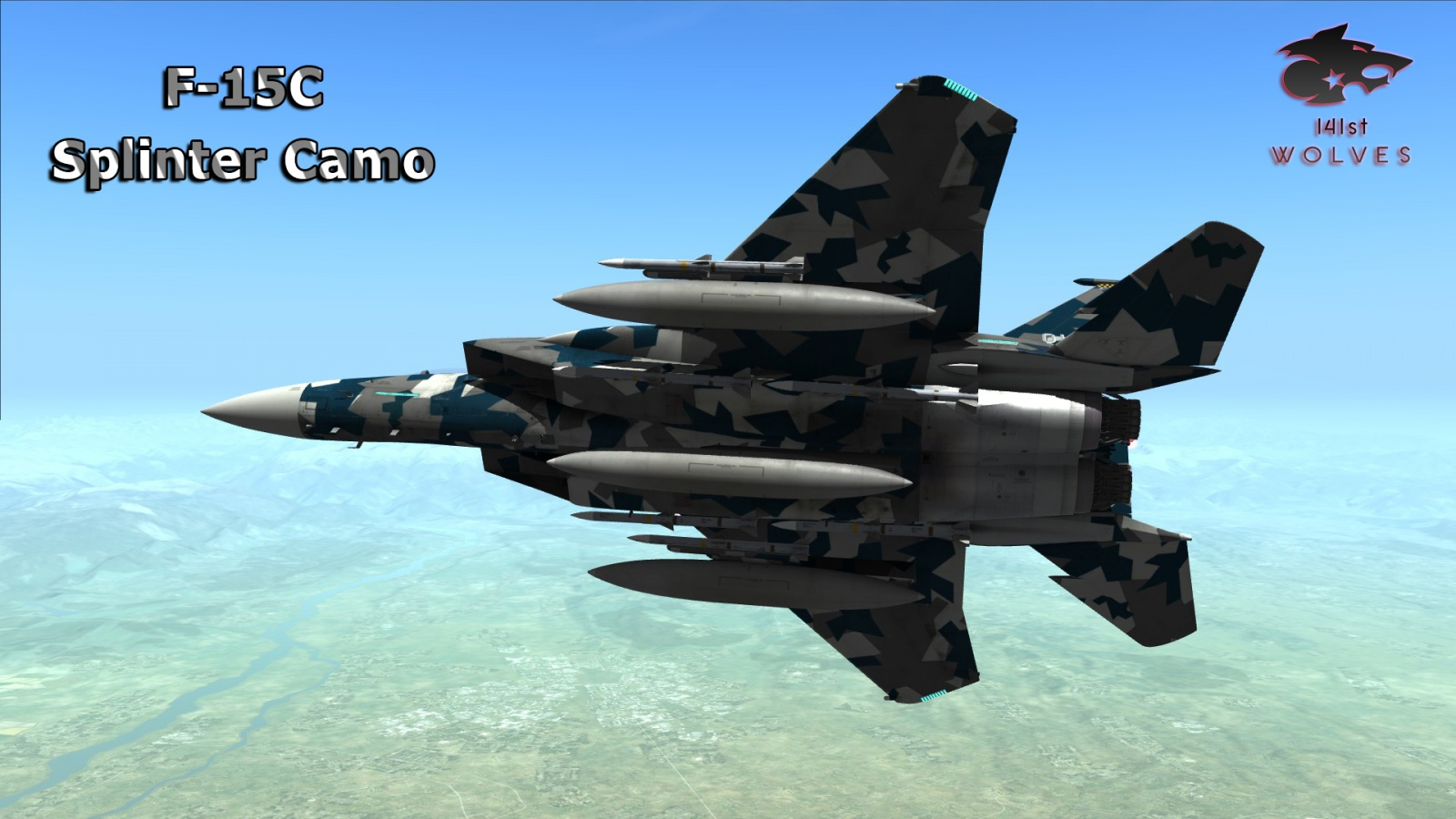 F-15C Splinter Camo Eagle