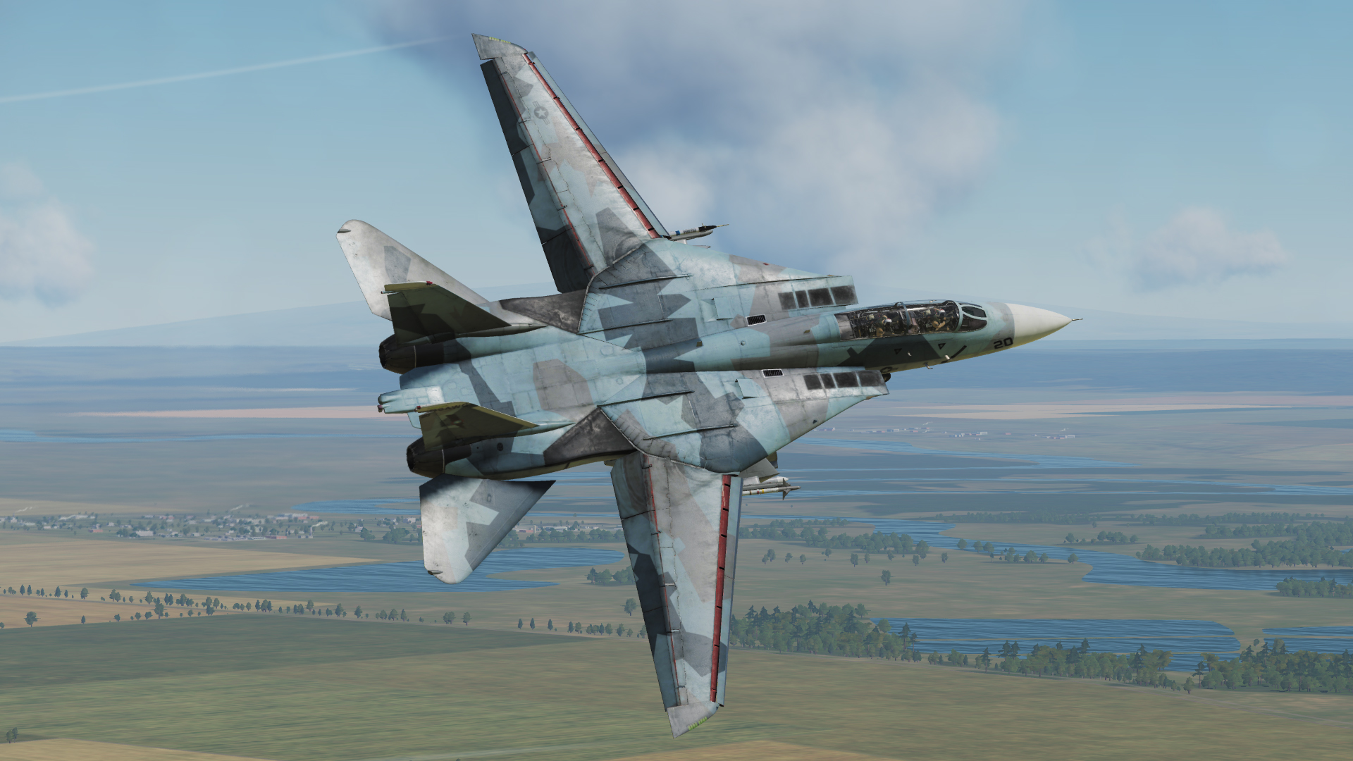 F-14B - NSAWC Blue splinter #20
