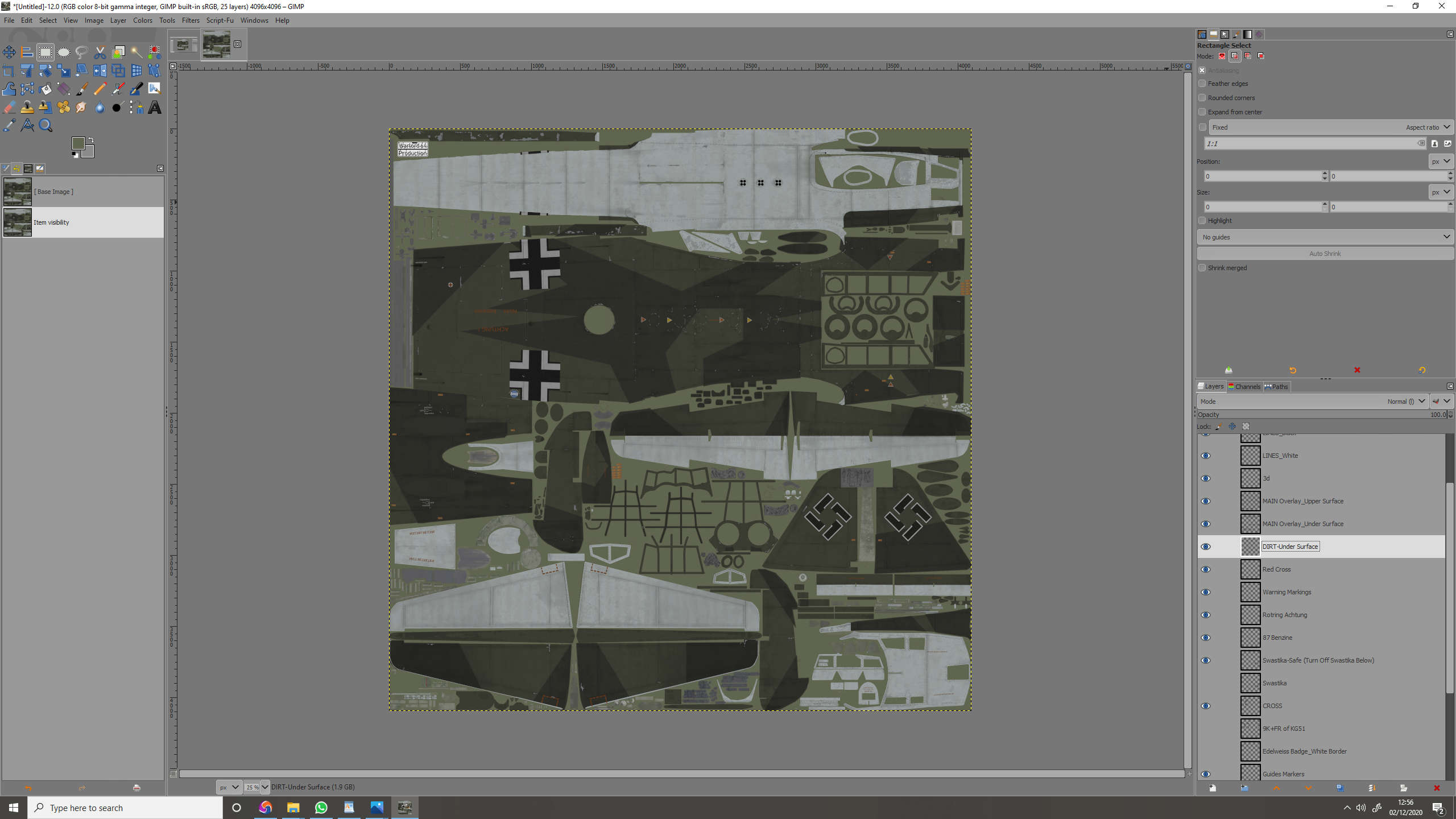 Ju88-A4   Multi  Layered Template.  By Warlord64