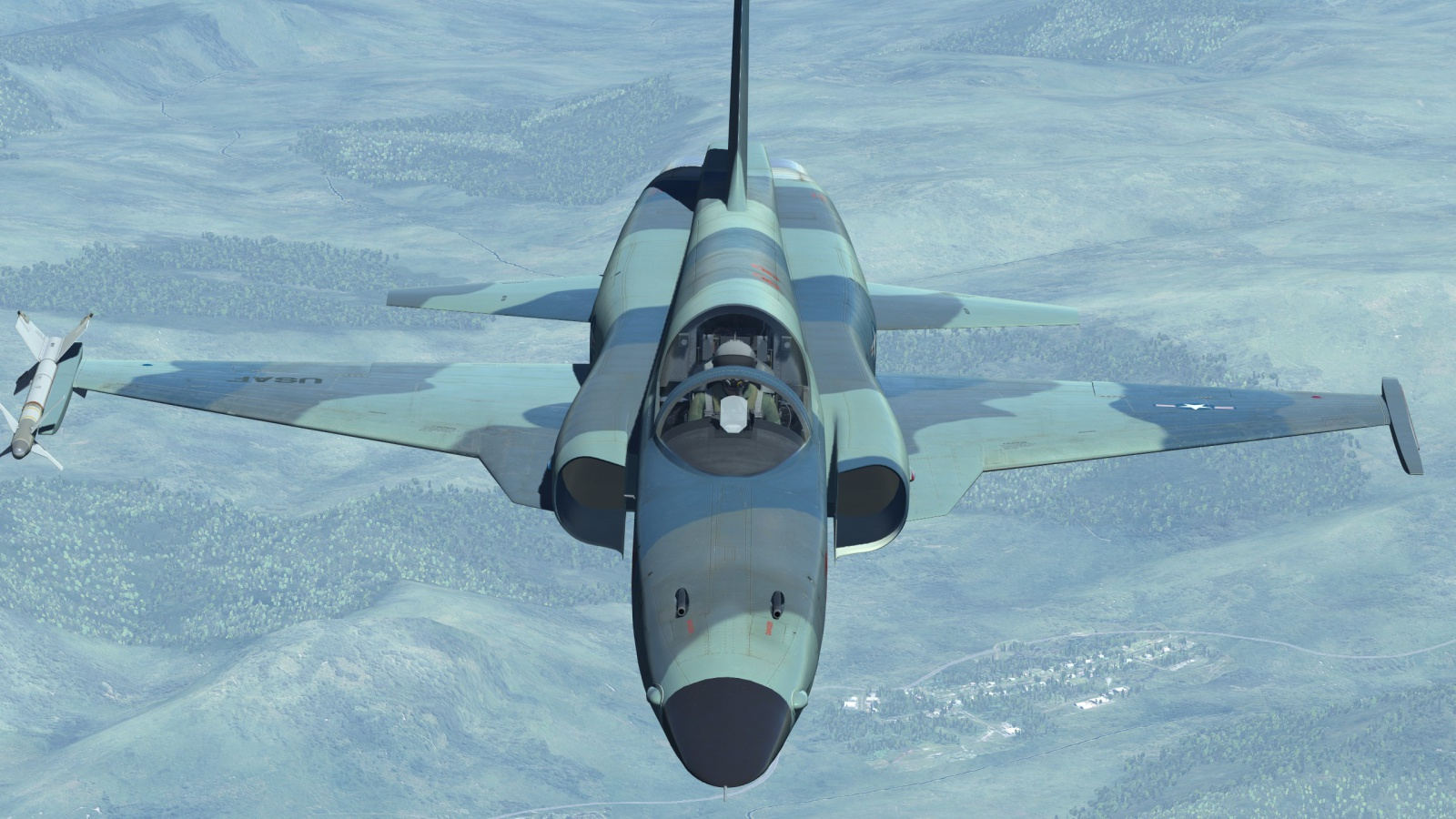 F-5E BARCAP DCS 2.5 Open Beta Update
