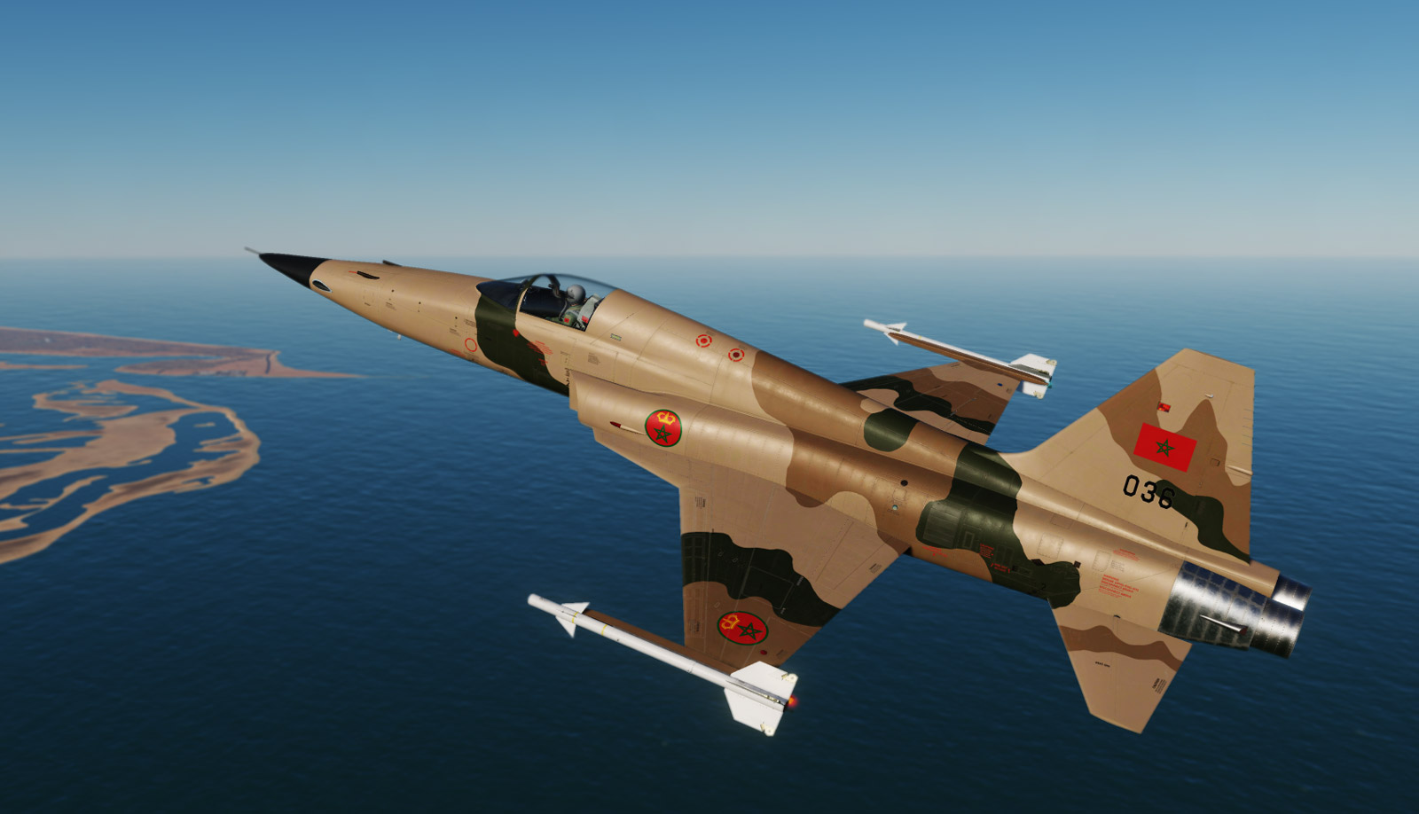 F-5E Moroccan Royal Air Force Standard Skin